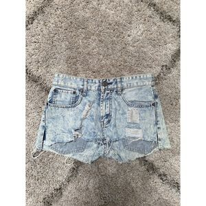 High Waisted Levi's Cutoff Shorts